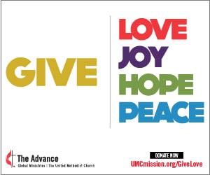 Dê Amor, Alegria, Esperança, Paz